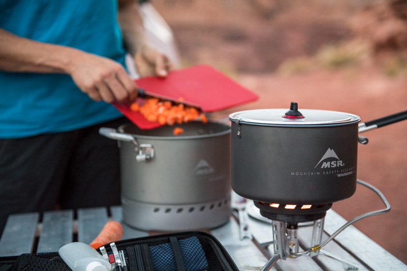 Best-Gear-for-Group-Camping-MSR-WindBurner-Stove-System